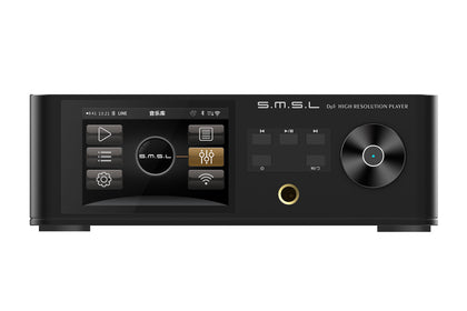 SMSL DP5 ES9038PRO MQA DSD256 HIFI Network Music Decoder Banlanced Headphone Amplifier High Resolution Player