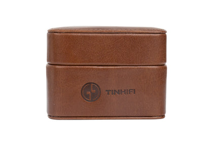 TINHIFI Earphone Leather Case Headphone Headset Cable Storage Bag For TIN Audio T2 T3 T2 PRO TFZ KZ Earphone