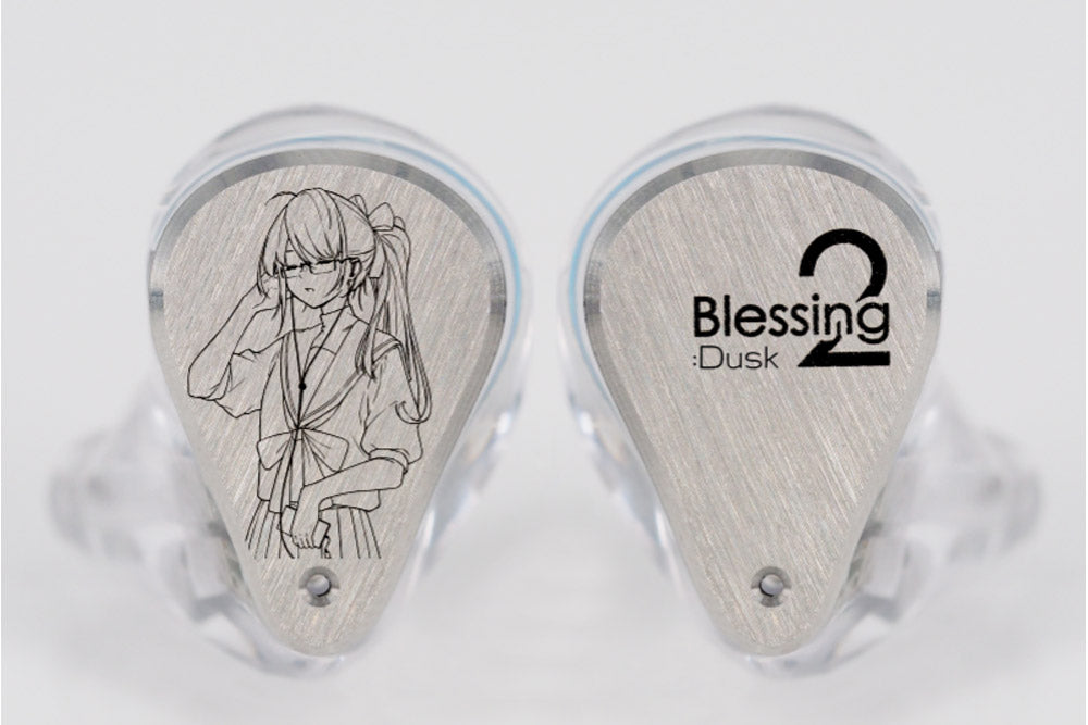 Moondrop x Crinacle Blessing2:Dusk 1DDD+4BA In-Ear Monitor Auricolare In-Ear Monitor