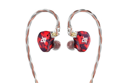 AUGLAMOUR RT-3 1DD+2BA Knowles Hybrid Technology HIFI Monitor RT3 In Ear Earphones
