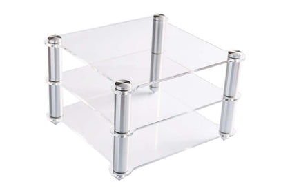 TOPPING Acrylic Rack For D30 Decoder A30 HIFI Amplifier Amp rack Transparent equipment two-layer Rack