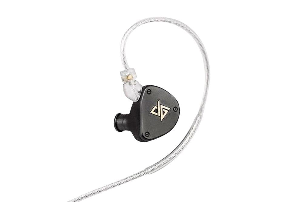 AUGLAMOUR F300 Dynamic HiFi Metal Music Monitor Sports In-Ear Earphones