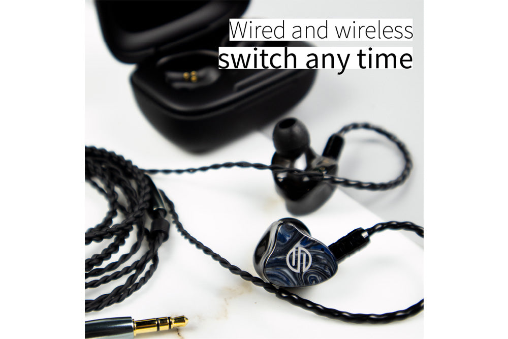 BGVP Q2S TWS Qualcomm QCC3040 Chip Bluetooth 5.2 Balanced Armature with MMCX Dual-use Earphone