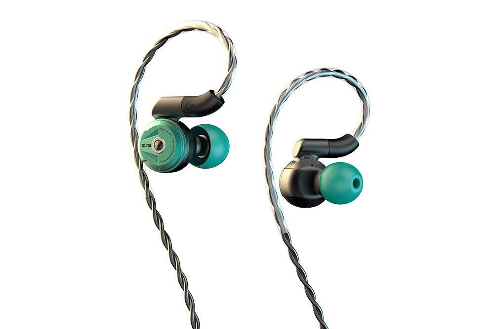 DUNU DK-2001 3BA+1Dynamic Hybrid Earphone Hi-Res HiFi Earphone