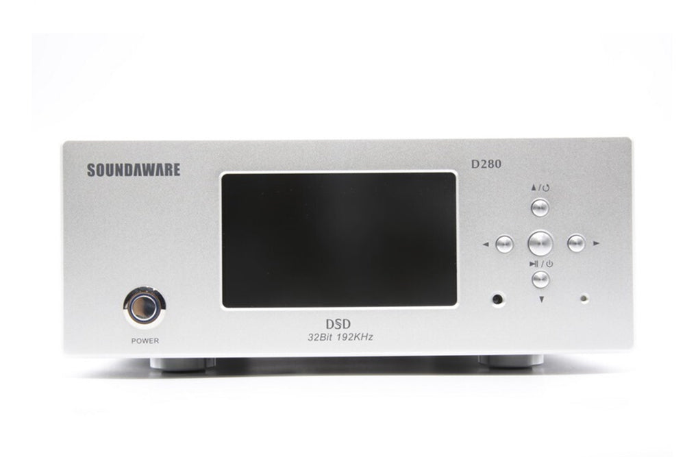 Soundaware D280 HiFi Affordable Network Digital Transport Femto Clock High Performance Sound Source FPGA Music Player