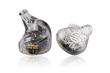 BGVP ArtMagic V12 Balanced Armature Drivers New Series Customizable In Ear Monitors HIFI Earphones