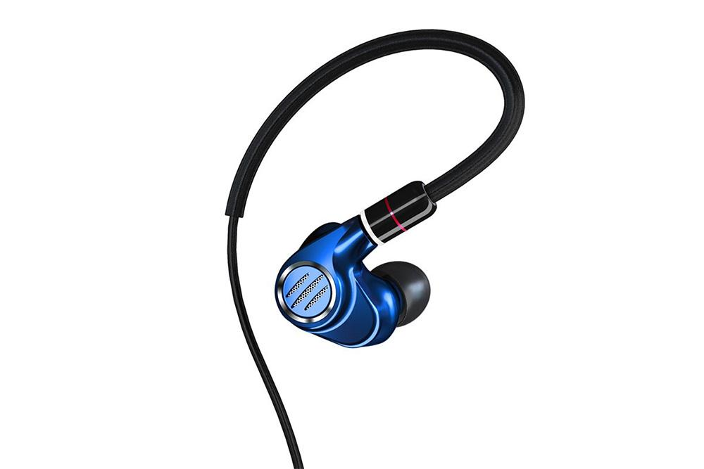 BGVP DMS HIFI Hybrid Earphone 6BA+1DD High Resolution with Detachable MMCX In-Ear Monitors Earphones