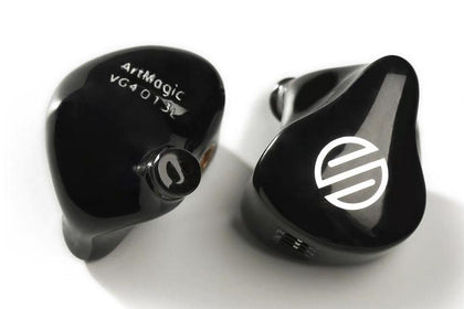 BGVP HIFI ArtMagic VG4 4 Customizable Balanced Armor In Ear Monitors MMCX Interface with Cable HIFI Headphones
