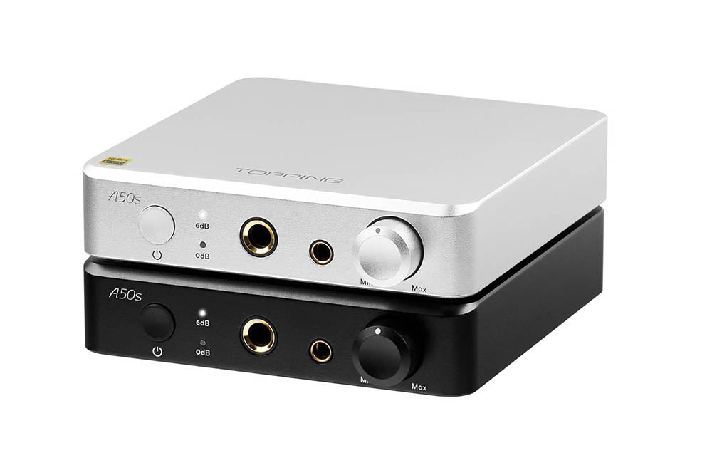 TOPPING A50S With NFCA Modules HPA/PRE Automatic Switching Desktop Headphone Amplifier Pre Amplifier Combined with D50S P50