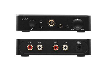 TOPPING A50 Desktop Headphone Amplifier Combined with Topping D50s D50 P50