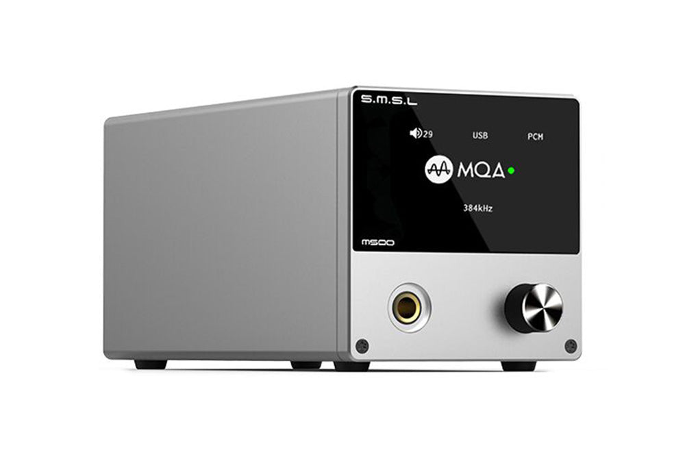 SMSL M500 MQA Decoder Headphone AMP ES9038PRO ES9311 XMOS XU-216 32bit 768kHz DSD512 Hi-Res Audio DAC Headphone Amplifier