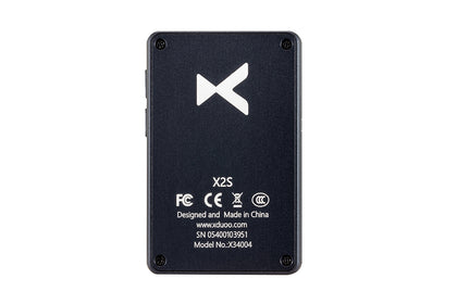 XDUOO X2S Hi-Res Lossless DSD128 PCM 128GB OLED Lettore musicale portatile