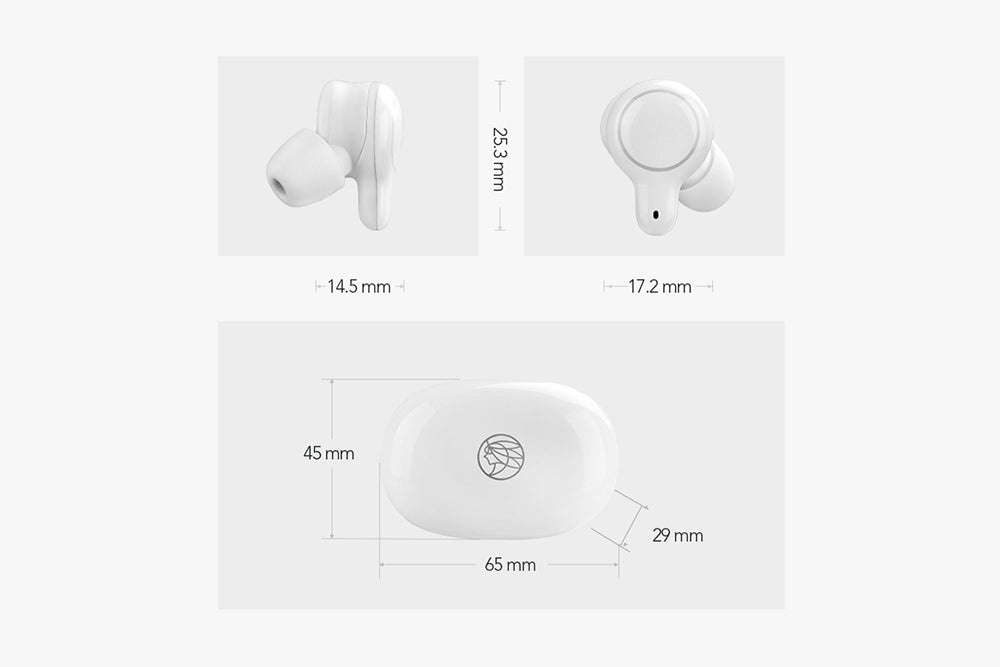 TFZ COCO Q1 TWS Bluetooth 5.0 Earphone Support AAC SBC Double Noise Reduction TFZ Q1 HiFi Wireless Earphone