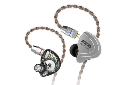CCA C10 Ten Unit 8BA 2DD Hybrid Technology Earphone Large Dynamic Low Distortion In-Ear Earphone