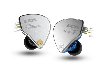 CCA CA4 1DD+1BA Monitor Hybrid Technology Headphones Hifi Bass Earbuds Sport Earphones