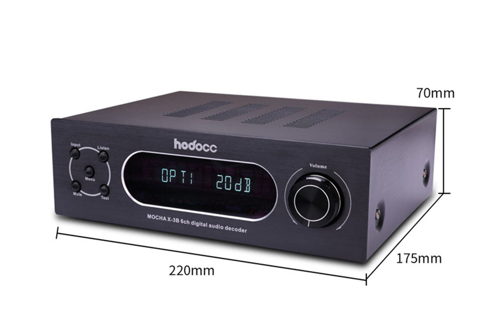 MOCHA X-3B AC3 / DTS 5.1 Digital Audio Decoder (Upgrade Version)