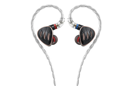 FiiO FH5s 2BA+2DD Hybrid Monitors In-Ear Earphone with Detachable Cable
