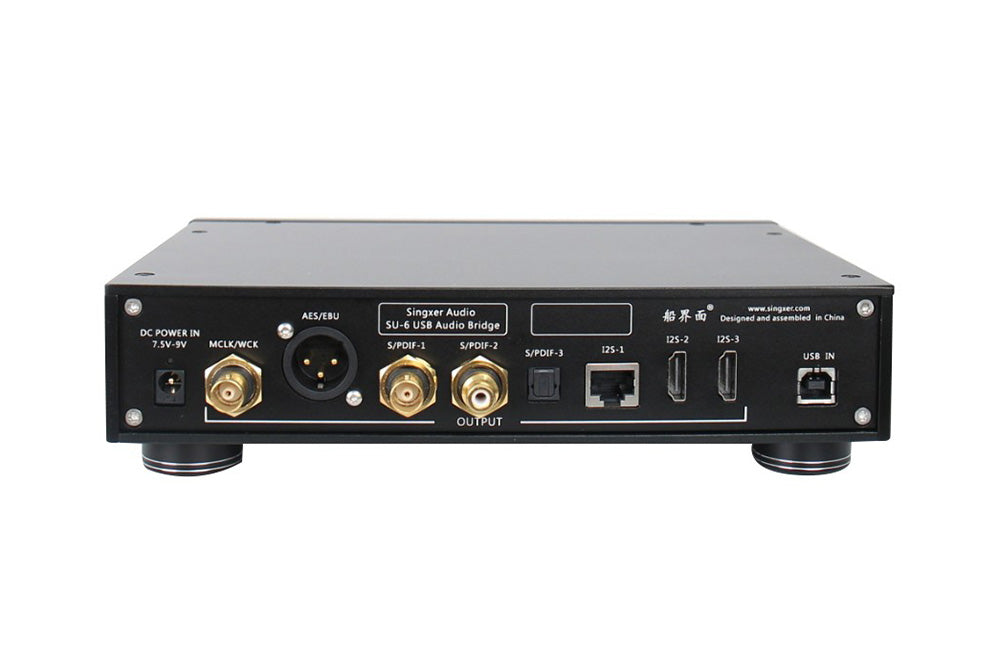 Singxer SU-6 XMOS XU208 CPLD Femtosecond Clock USB Digital Interface