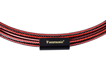 Fanmusic ZY Cable ZY-396 2RCA to 2XLR-M Signal Line Advanced Edition Cable