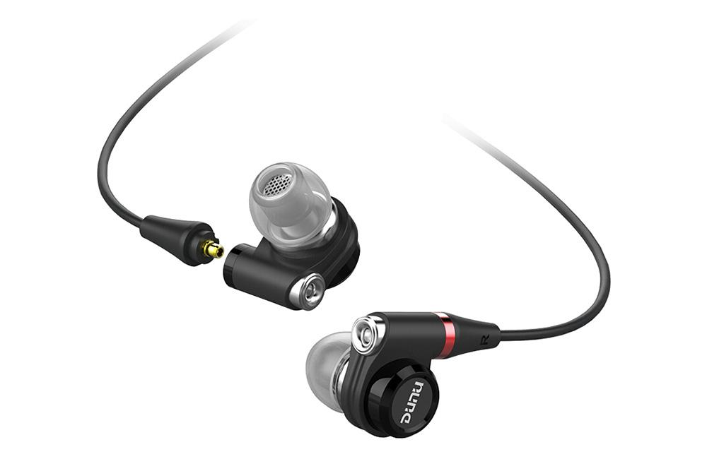 DUNU DN-2002 HiFi 2BA+2Dynamic Hybrid IEM Earphones with MMCX Connector DN2002 In-Ear Earphone