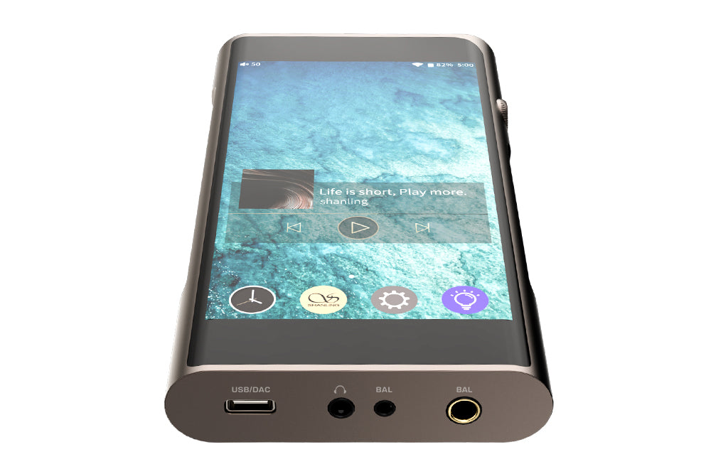 SHANLING M6 Pro Player Dual AKM AK4497EQ Support DSD256 32Bit/768kHz Bluetooth Portable Hi-Res Music Player