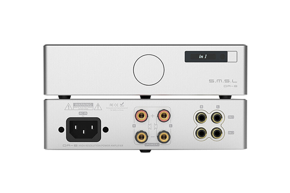 SMSL DA-8 ICEpower50ASX2 NJW1194 Hi-Res Desktop High Performance Digital DA8 Power Amplifier