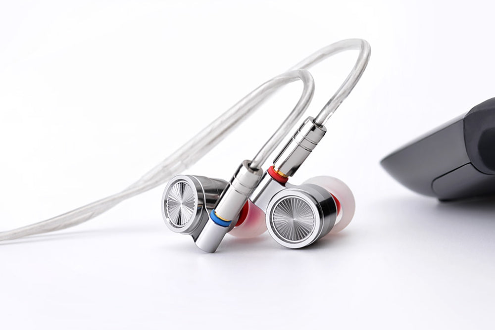 TINHIFI T4 Earphone Dynamic With Detachable Cable Tin audio T4 HIFI In-Ear Earphone