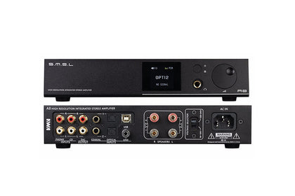 SMSL A8 XMOS Solution and ICEpower 125Wx2 Module and HIFI Audio Digital Power Amplifier DAC