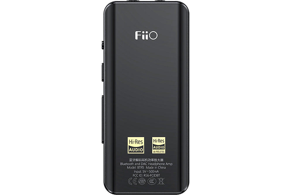 FiiO BTR5 24bit Hi-Res CSR8675 Bluetooth 5.0 DAC ES9218P*2 Receiver DSD256 Headphone Amplifier