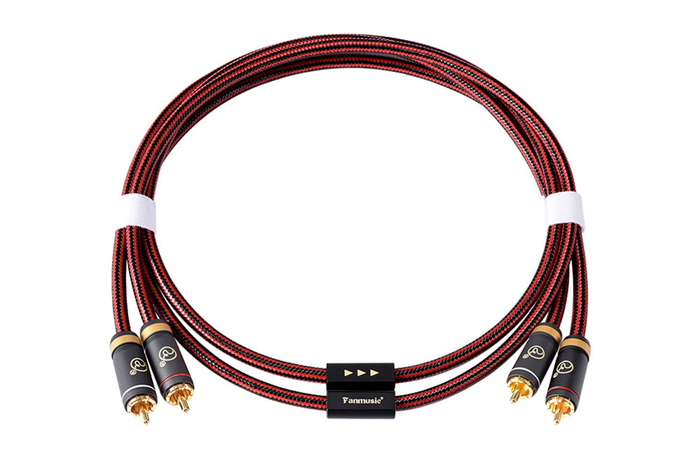 ZY Cable ZY-392 Double Lotus Head Signal Line ZY392 RCA Advanced Version Cable