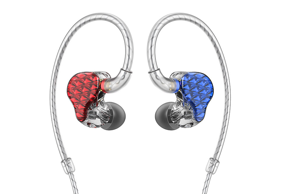FiiO FA7 With Quad Driver Balanced Armature 3D Printed Detachable MMCX Cable HIFI In-Ear Earphone