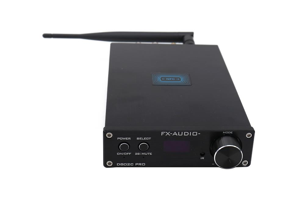FX Audio D802C PRO Bluetooth senza fili USB/AUX/Optical/Coaxial Support APTX NFC Amplificatore digitale APTX NFC