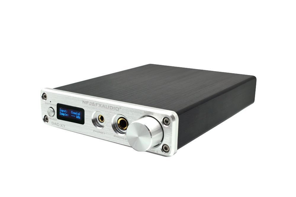 FX AUDIO DAC-X7 DSD256 32Bit384K USB HIFI AUDIO Decoder Headphone Amplifier
