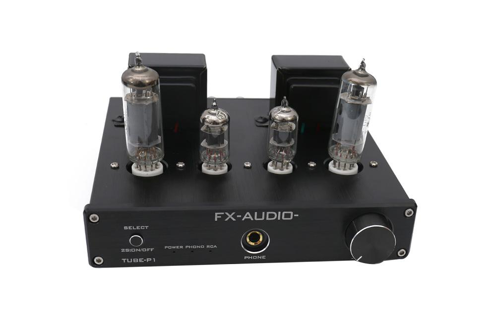 FX-Audio TUBE-P1 HIFI MCU HIFI MCU Single Ended Classic A Desktop Power Tube Amplifier
