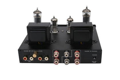FX-Audio TUBE-P1 HIFI MCU Single Ended Classic A Desktop Power Tube Amplifier - SHENZHENAUDIO
