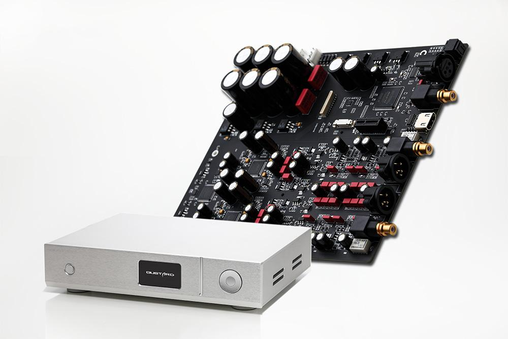 GUSTARD DAC-A22 DAC Dual AK4499 XMOS Solution Native Balanced Decoder