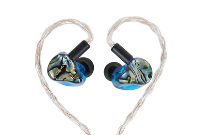 Kinera IDUN In Ear Earphone 2BA+1DD Hybrid Sport Earphone With Silver Copper Weave Cable - SHENZHENAUDIO