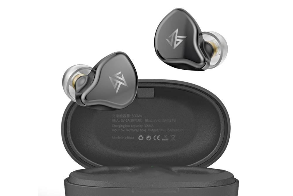 KZ S1 S1D TWS Wireless Earphones Bluetooth 5.0 Dynamic/Hybrid Sport Earphone