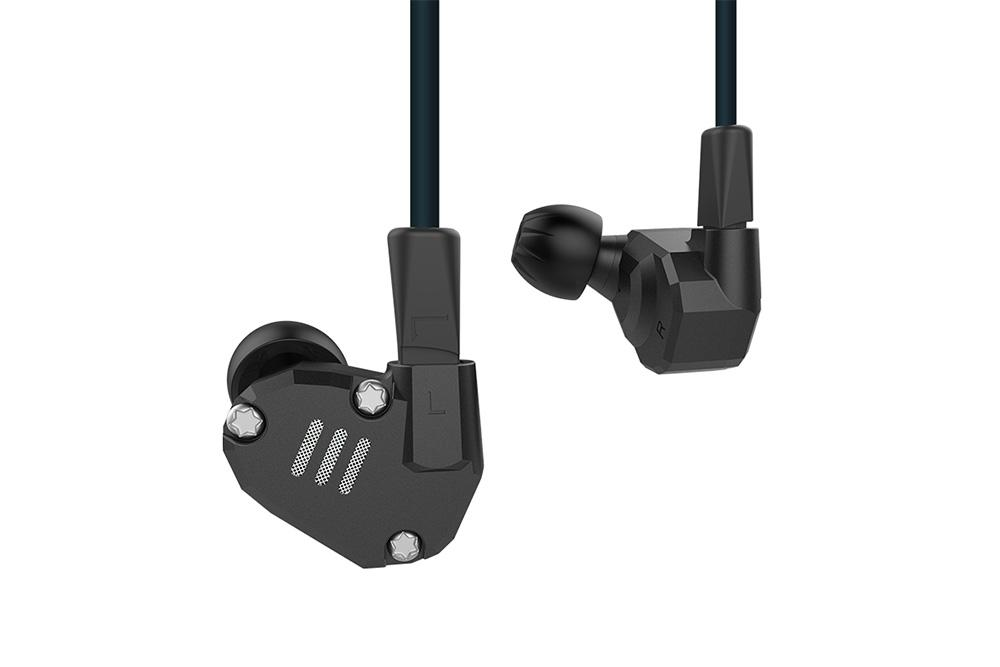KZ ZS6 2DD+2BA Hybrid technology In Ear Monitors HIFI Stereo Sport Earphone