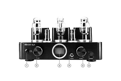 Little Dot A1 6SH7 Tube Amplifier ES9038PRO DSD512 DAC Decoding Amplifier Headphone Amplifier - SHENZHENAUDIO