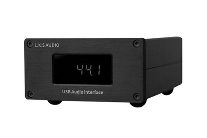 L.K.S Audio LKS USB-100 USB Audio Interface PCM384/DSD512 I2S RJ45 HDMI Coaxial out DSD512 with Crystek - SHENZHENAUDIO