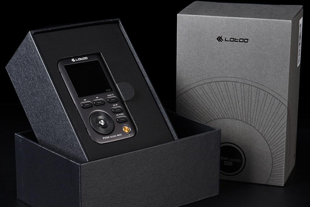 Lotoo PAW 5000 MKII AK4490 Verlustfreier DSD-Musik-Player HiFi-Tragbarer MP3-Musik-Player