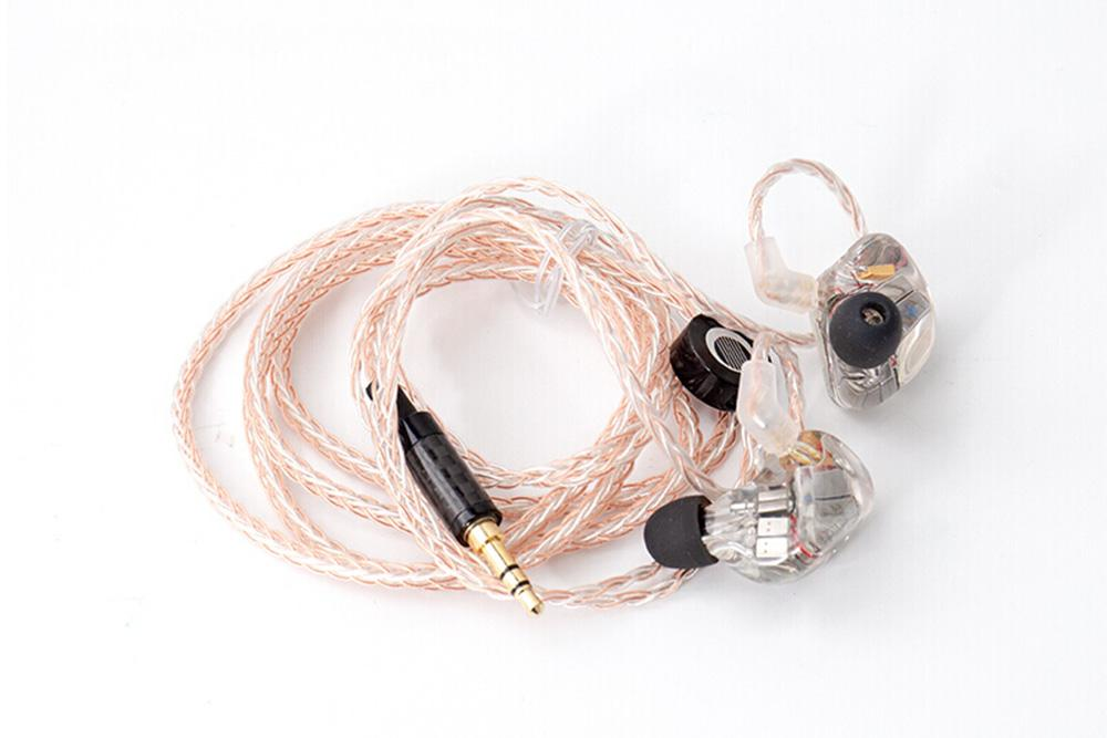 MoonDrop A8 8BA Earphone with Detachable Cable Hifi In-Ear Earphone
