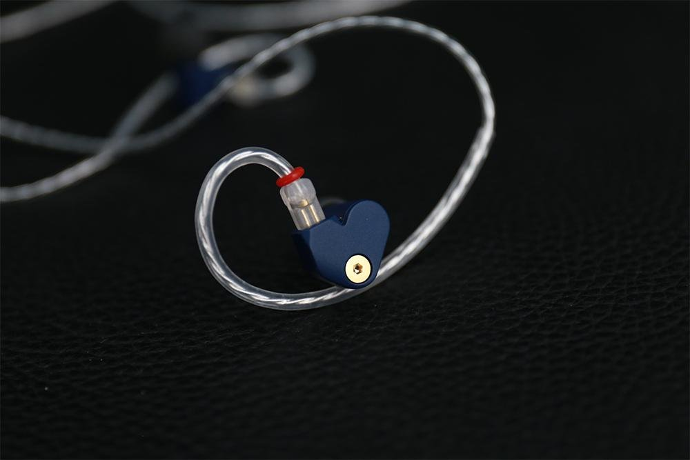 MoonDrop SSP Super Spaceship Pulse Beryllium Plated Dome Diaphragm Dynamic Driver In-Ear Earphone