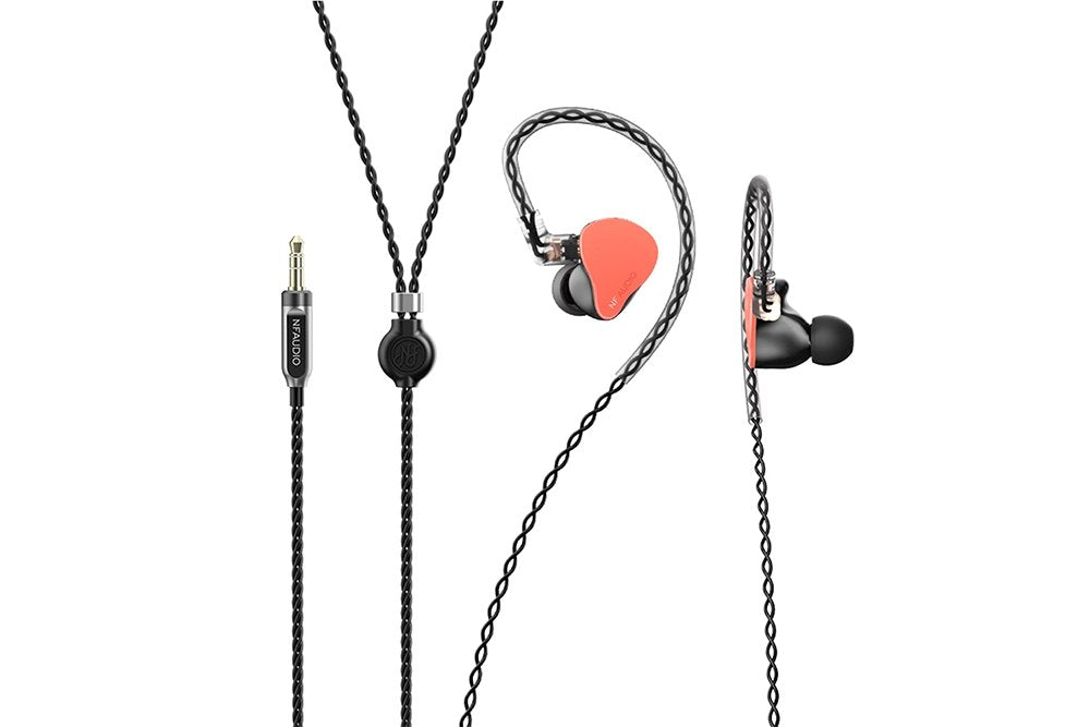 NFAudio NF2u 2 Unit Knowles Balanced Armature In Ear Monitor HiFi Earphones