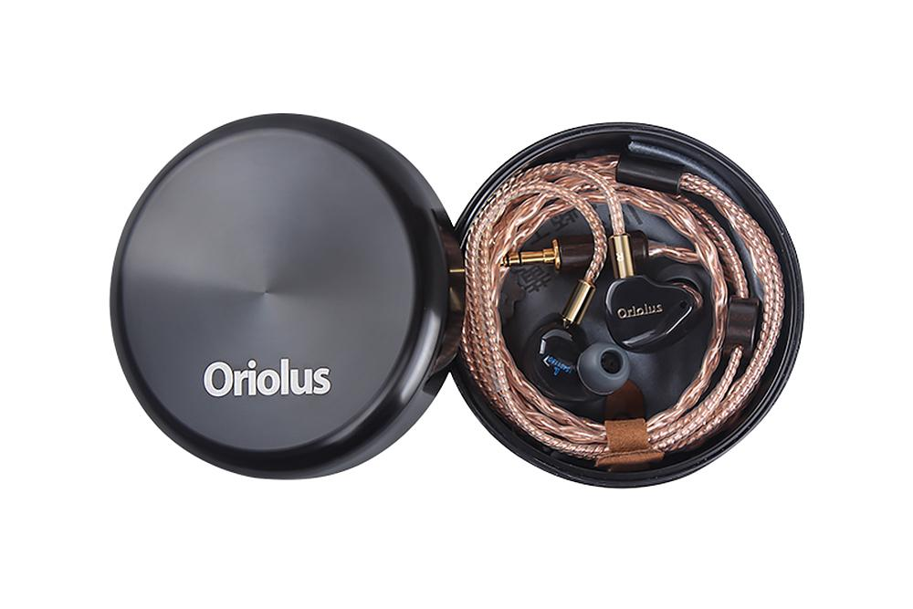 Oriolus Black Oriolus 1DD+3BA Earphone Demark Sonion BA Driver+10mm custom Dynamic Driver HiFi IEM Earphone