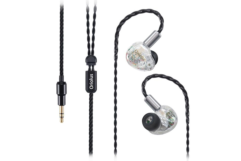 Oriolus Finschi 1DD+1BA Hybrid technology Hifi Monitor In Ear Earphones