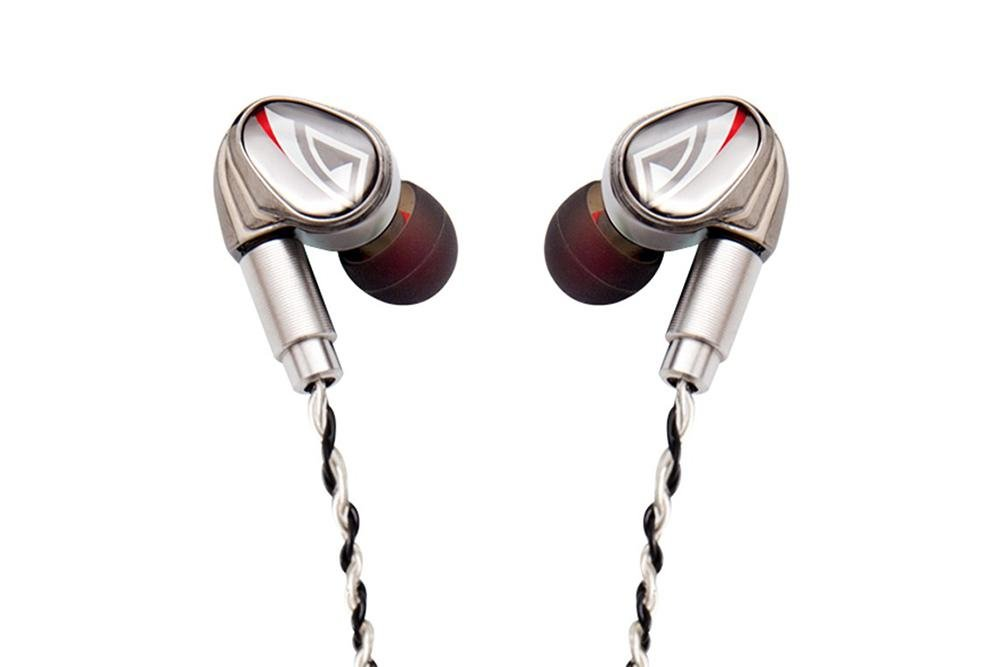 OSTRY KC07 Earphone Dual Unit Hybrid Technology In-Ear Earphones With Detachable Cable MMCX
