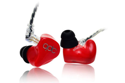 QDC Hifi 3 Earphone Triple Driver Balanced Armature Bass Noise In-Ear Earphone (3SH) - SHENZHENAUDIO