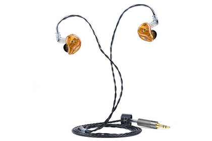 QDC Live 8 Custom headphones Eight-unit Balanced Armature 8BA In-ear soundproof Earphones(8SL) - SHENZHENAUDIO
